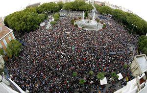 El 15-M rodeará el Congreso contra  la Ley de Seguridad Ciudadana
