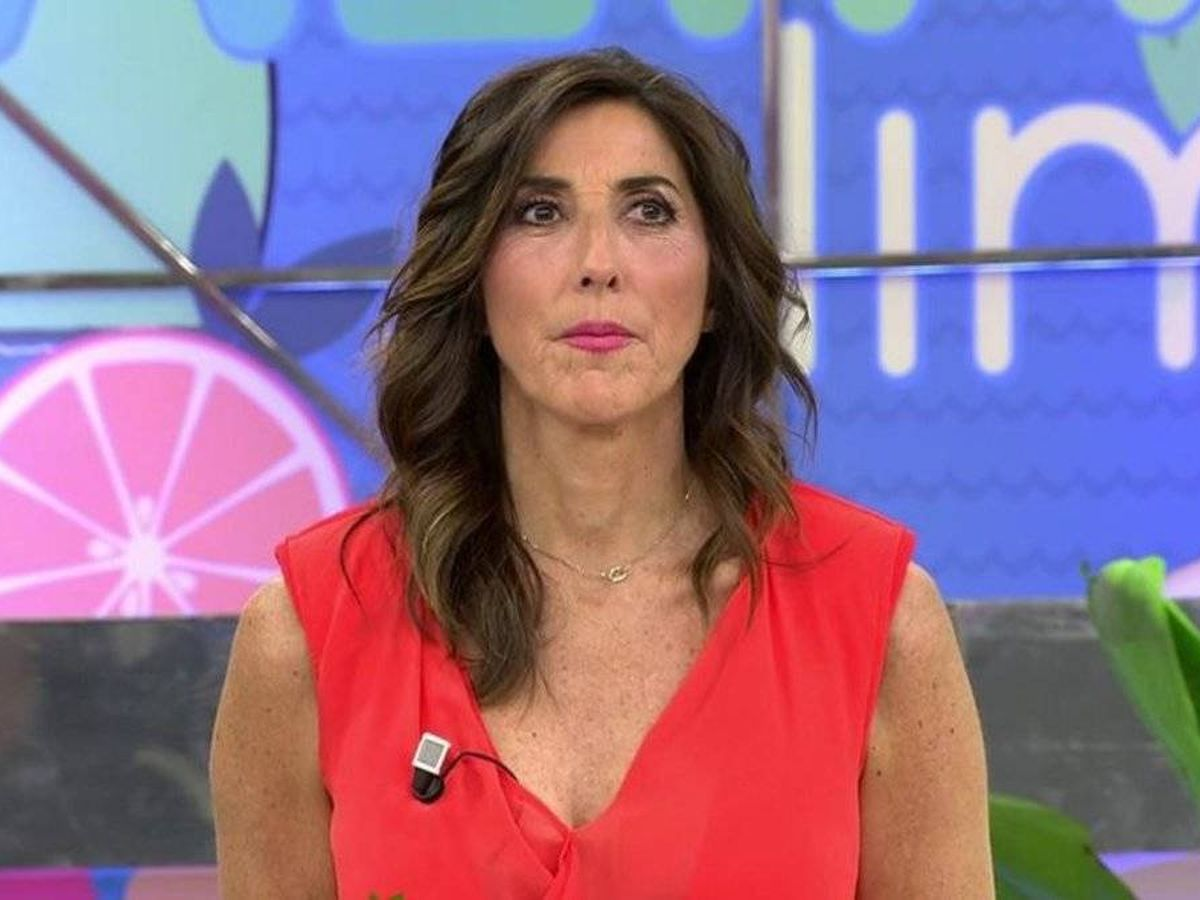 Foto: Paz Padilla, en 'Sálvame'. (Telecinco)