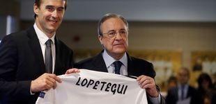 Post de El Real Madrid que Florentino Pérez planifica para Julen Lopetegui