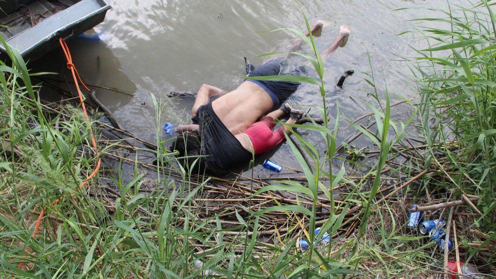 Valeria y su papá: el drama de los migrantes centroamericanos, en una foto