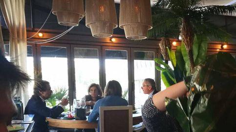 Almuerzo de Aznar, Botella y Gallardón a escasos metros de la sede de Génova