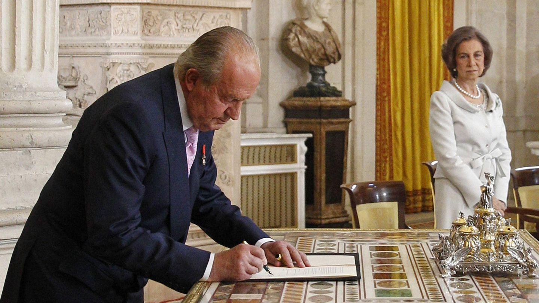 El rey Juan Carlos, el día de su abdicación. (Limited Pictures)