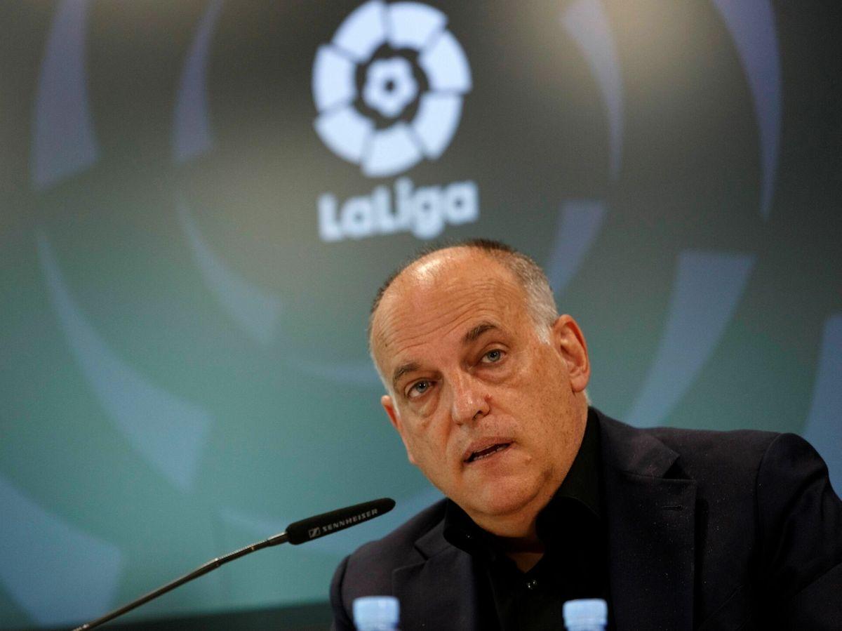 Foto: El presidente de LaLiga, Javier Tebas. (EFE)