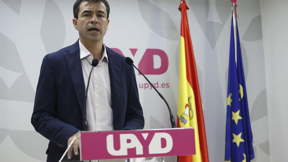 Foto: El candidato de UPyD a la Presidencia del Gobierno, Andrés Herzog (Efe)