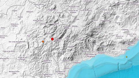Un terremoto de magnitud 4 se deja sentir en las provincias de Cádiz, Málaga y Sevilla