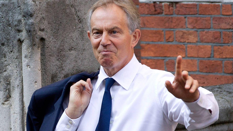 El ex primer ministro inglés, Tony Blair. (Getty)