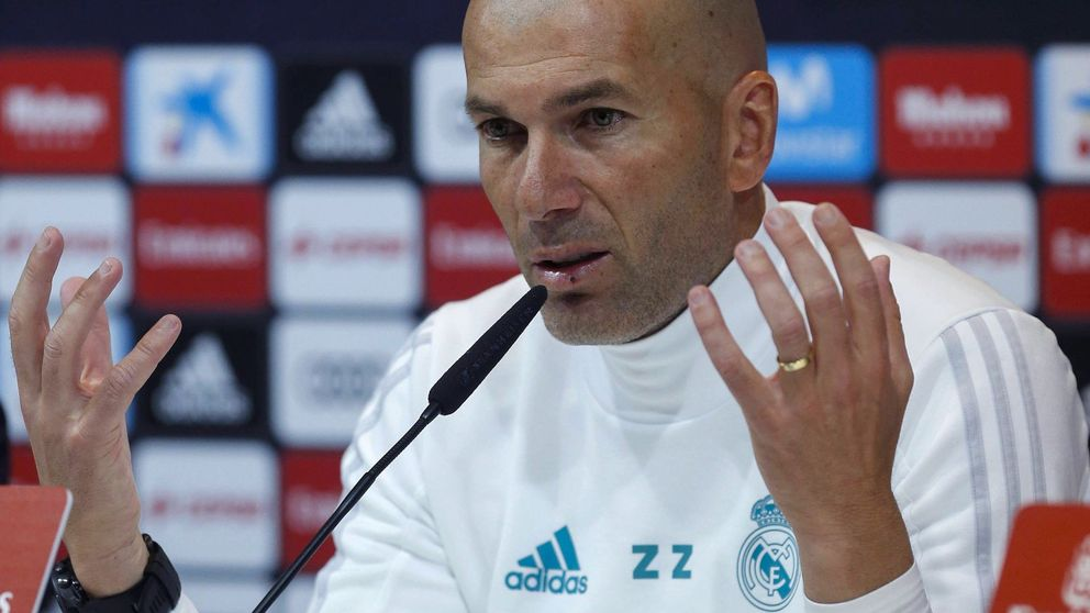 Zidane se revuelve contra Florentino Pérez: Ahora no necesito un portero