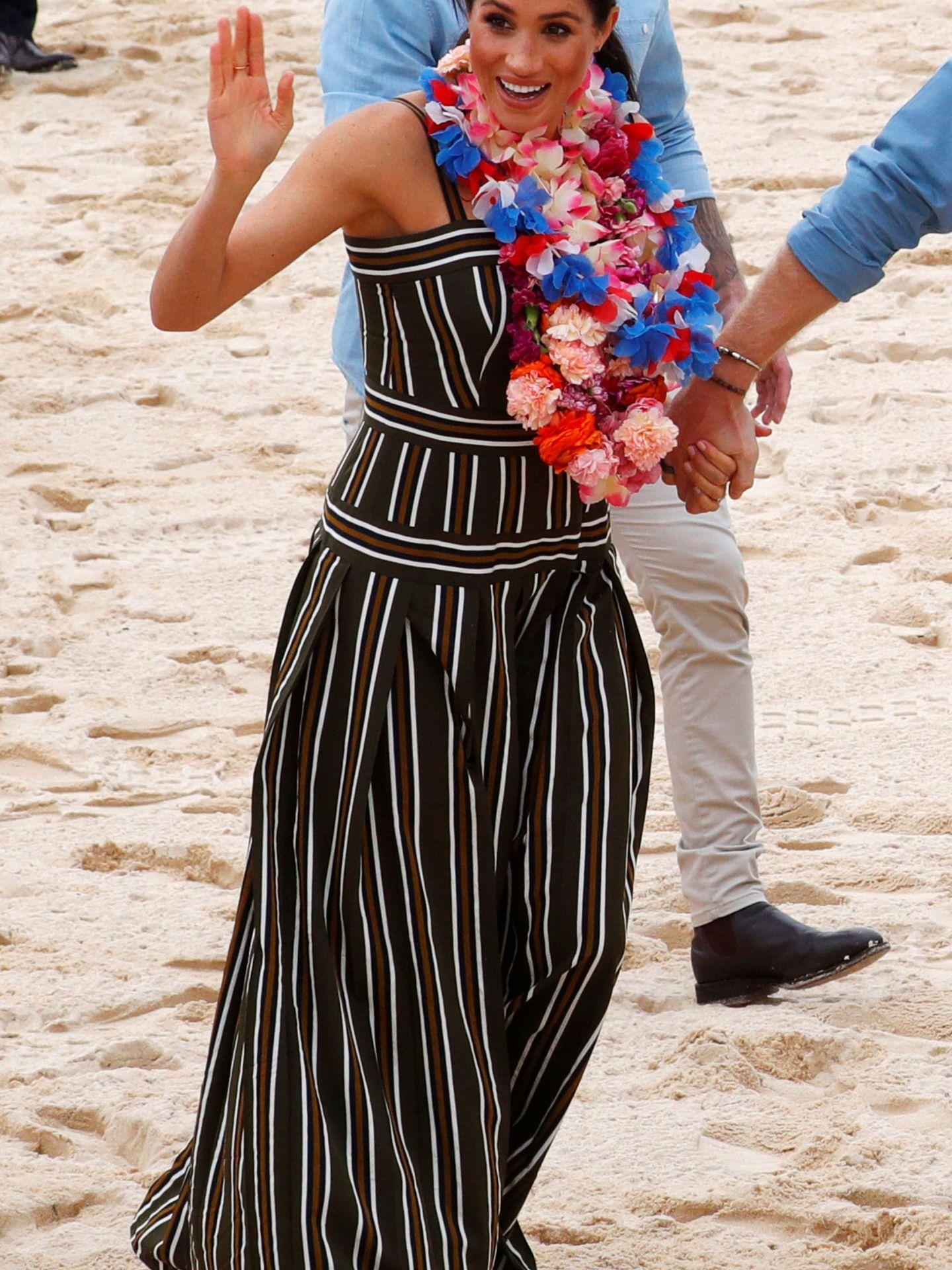 Meghan en Bondy Beach. (Reuters)