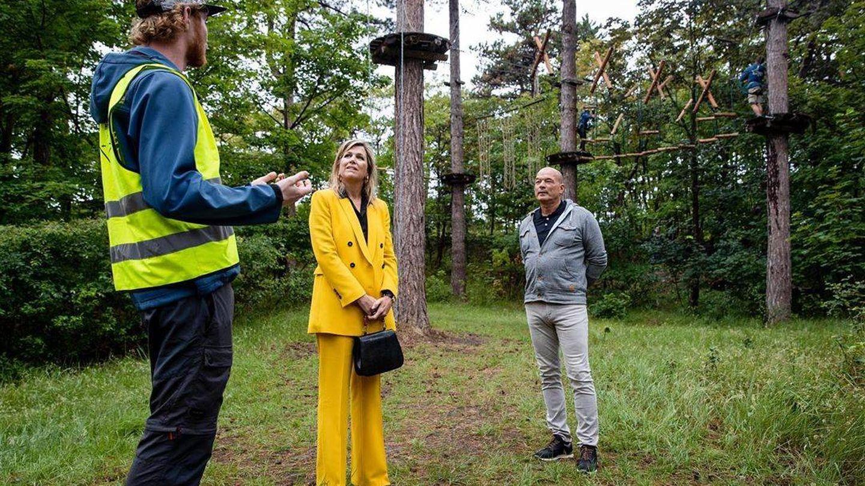 Máxima de Holanda, en el camping. (Instagram @koninklijkhuis)