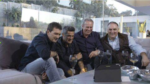 Bertín reúne a Alejandro Sanz, Banderas, Casillas y el chef José Andrés