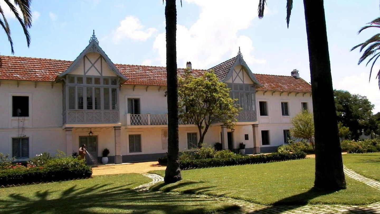 Palacio de las Marismillas,en el Parque Nacional de Doñana. (EFE)