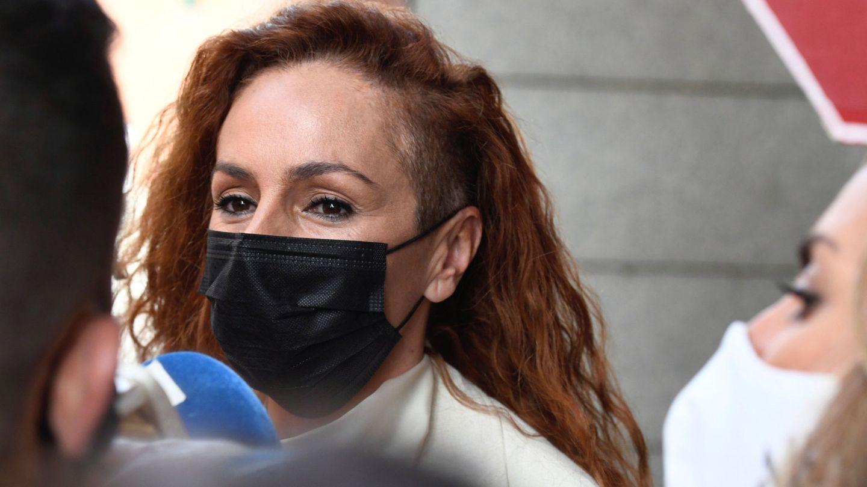 Rocío Carrasco, el pasado abril en su último juicio frente a Antonio David. (EFE)