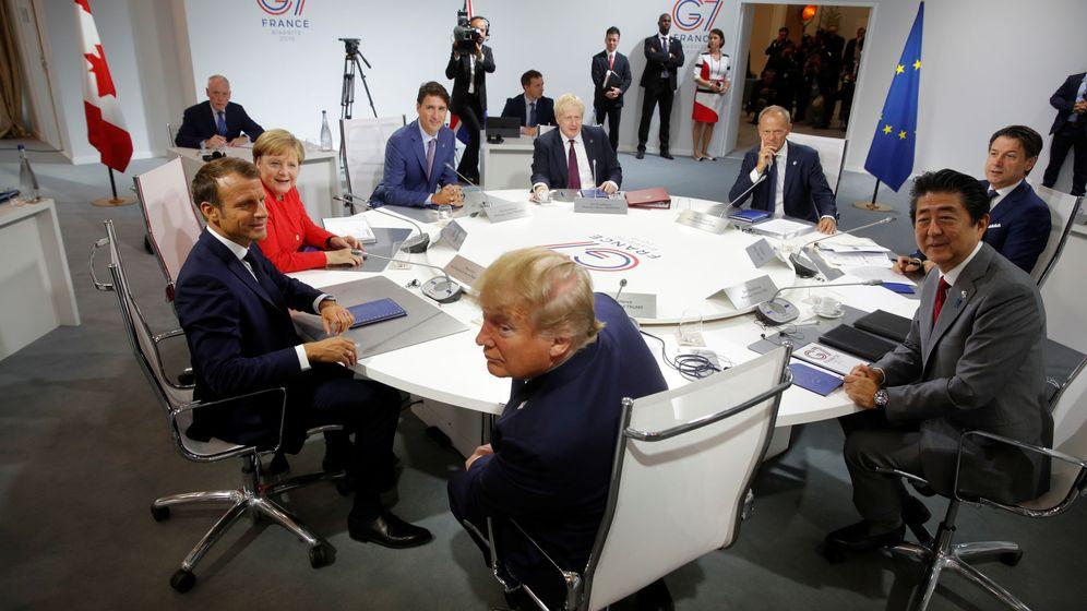 Foto: Reunión del G-7 en Biarritz. (Reuters)