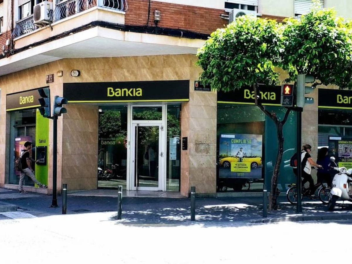 Foto: Sede bancaria en calle Obispo Frutos. (Google Maps).