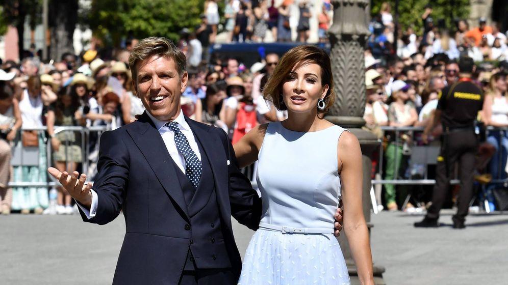 Foto: El Cordobes y Virginia Troconis. (Cordon Press)