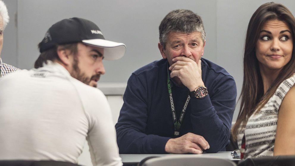 Lara Álvarez ya conoce al padre de Fernando Alonso