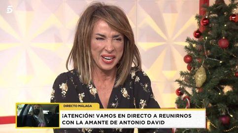 María Patiño sufre un ataque de risa en 'Socialité por culpa de José Antonio Avilés