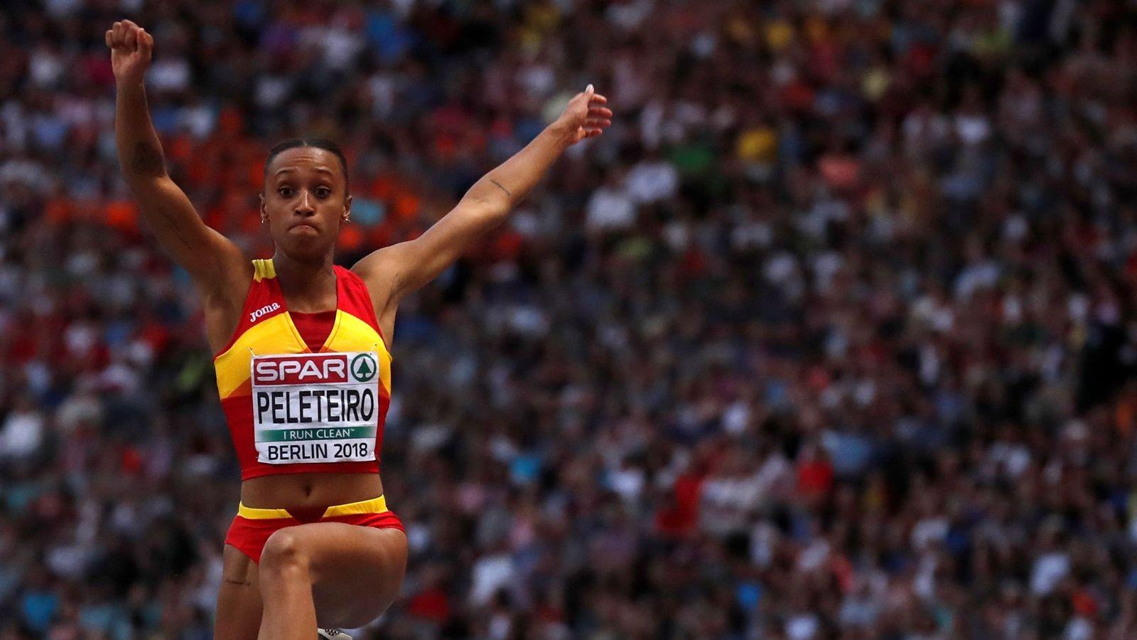 Foto: Ana Peleteiro, en los campeonatos de Europa. (EFE)