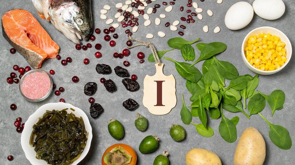 Los alimentos con yodo, el mineral más escaso de tu dieta