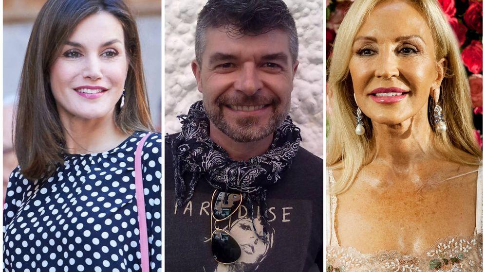 Foto: La reina Letizia, el actor Nacho Guerreros o Carmen Lomana son algunos de los famosos agraciados.