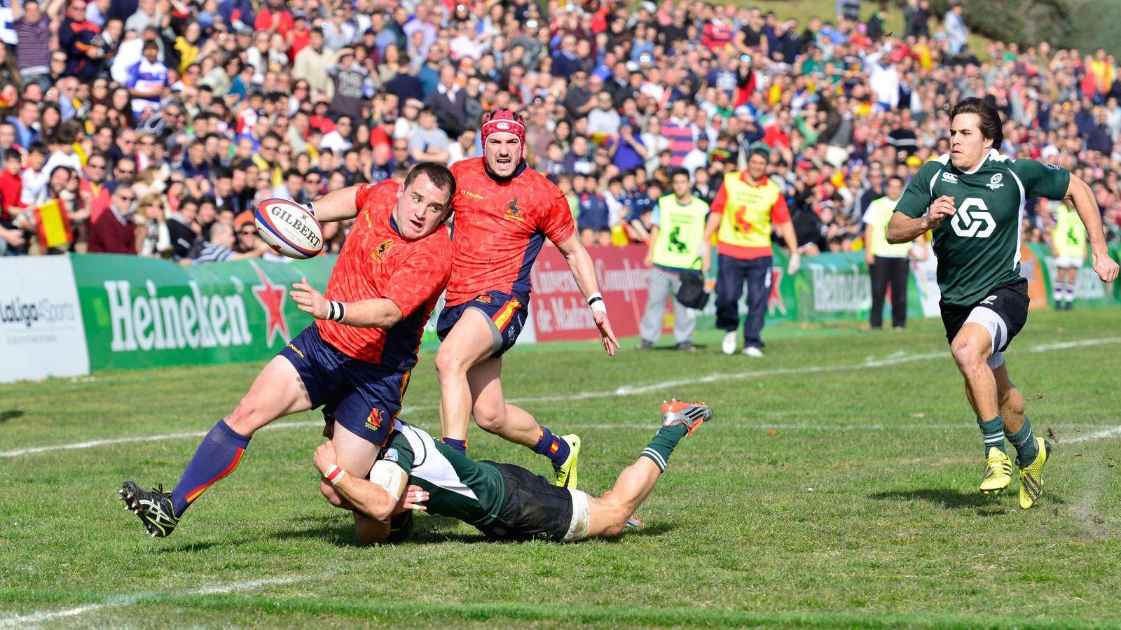 Foto: España anotó cinco ensayos (Foto: Federación Española de Rugby)