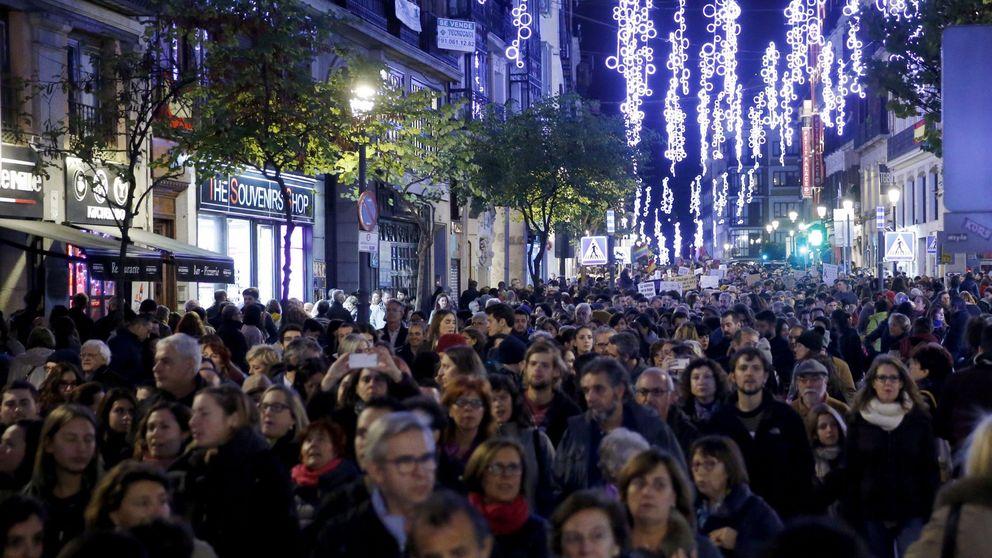La marcha en Madrid contra la violencia machista grita no es no y yo sí te creo
