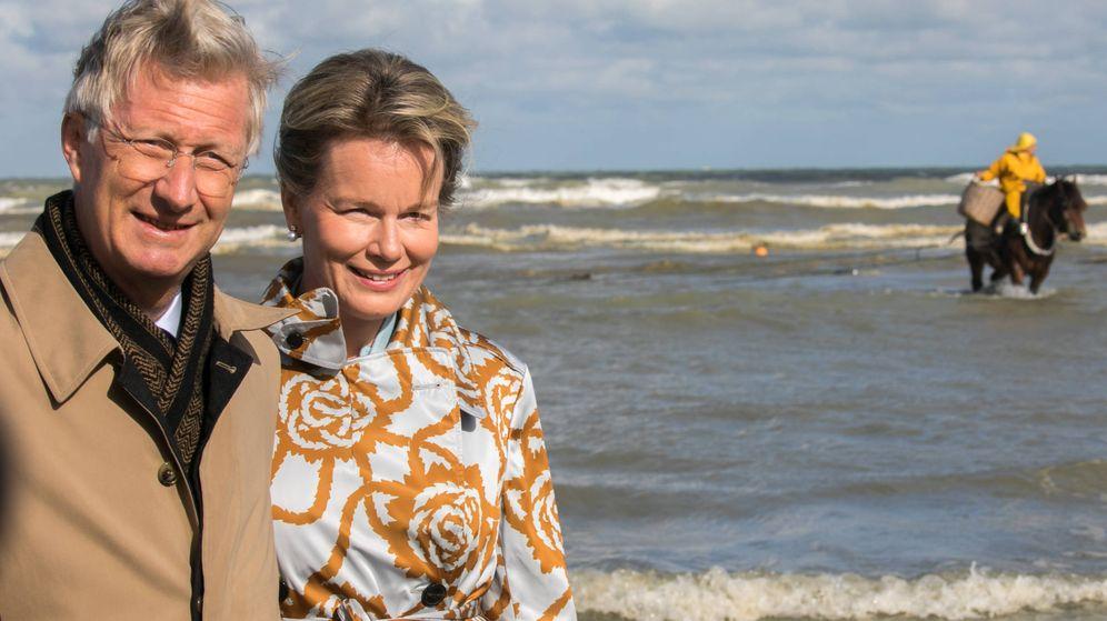 Foto: Mathilde y Felipe, sonrientes en una foto de archivo. (Getty)