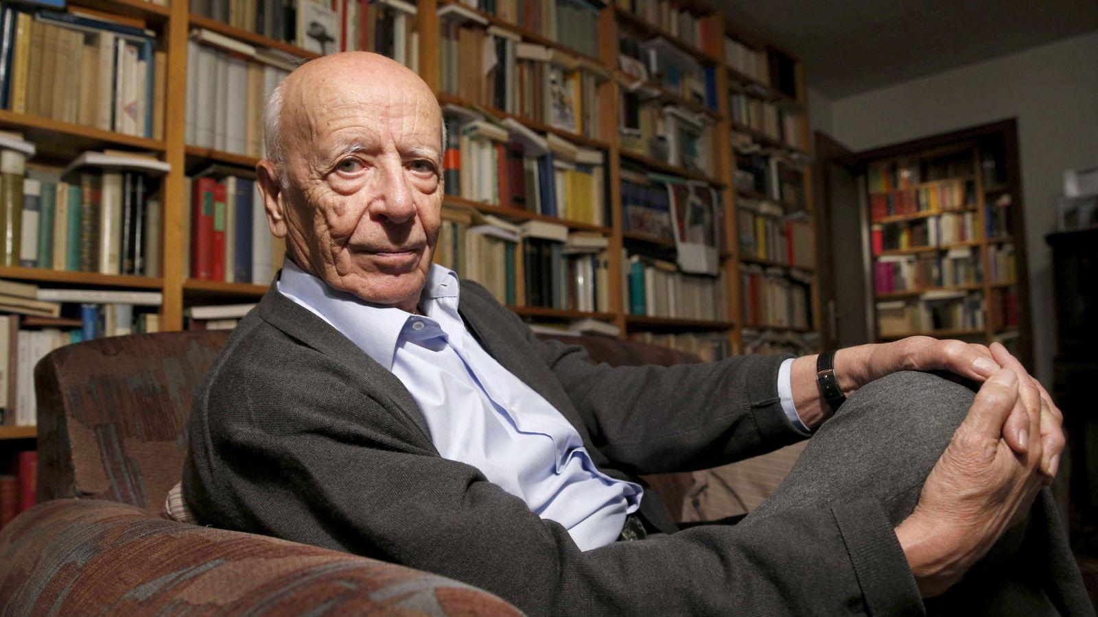 Foto: El filósofo emilio lledó, premio princesa de comunicación y humanidades