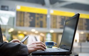 Lo del wifi en los aeropuertos españoles es de vergüenza