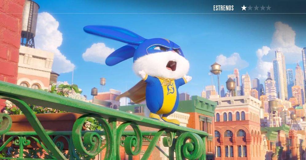 Foto: Copo de Nieve protagoniza la secuela del éxito de animación 'Mascotas'. (Universal)