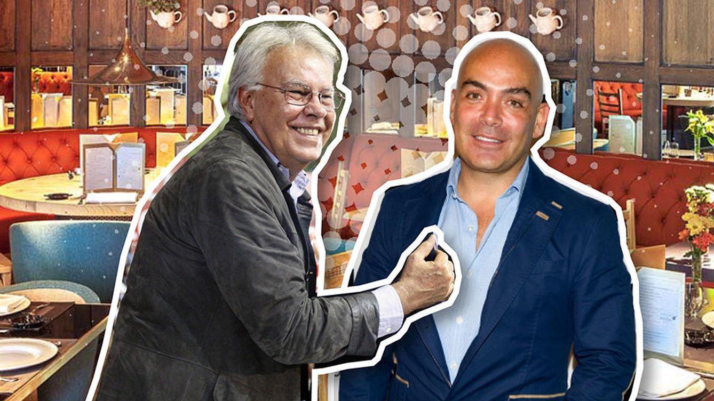 Foto: Felipe González y Kike Sarasola, confidencias a mediodía en el local preferido de Zapatero