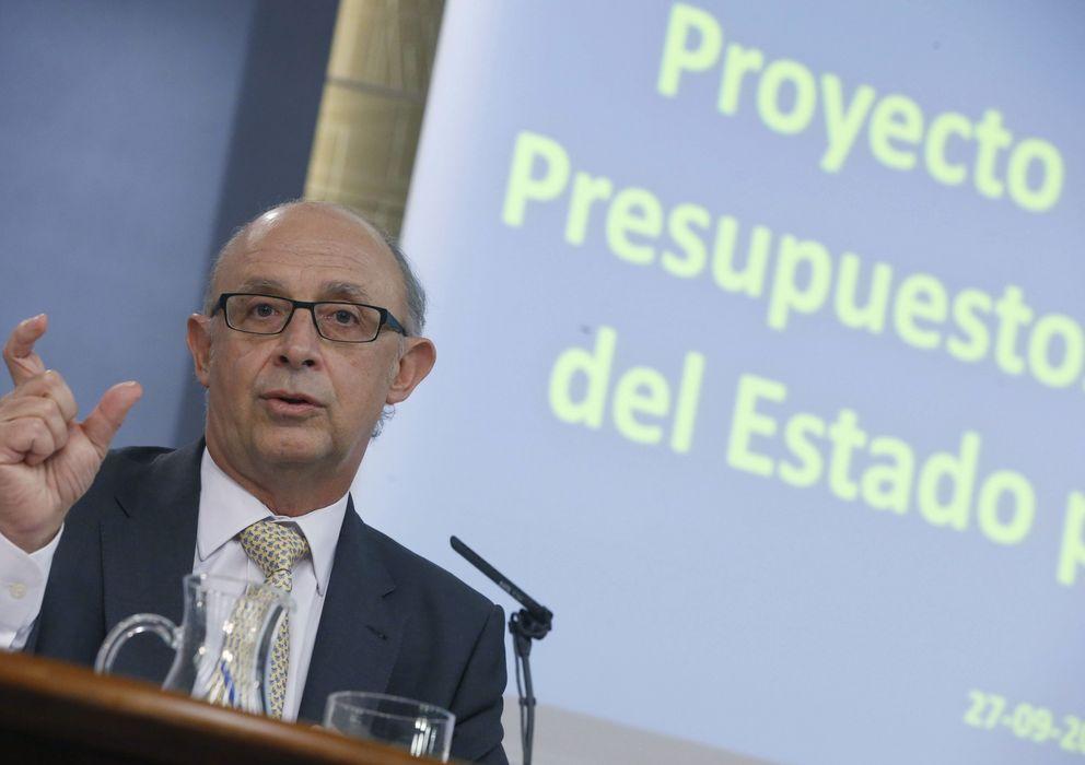Foto: Cristóbal Montoro, ministro de Hacienda (EFE)