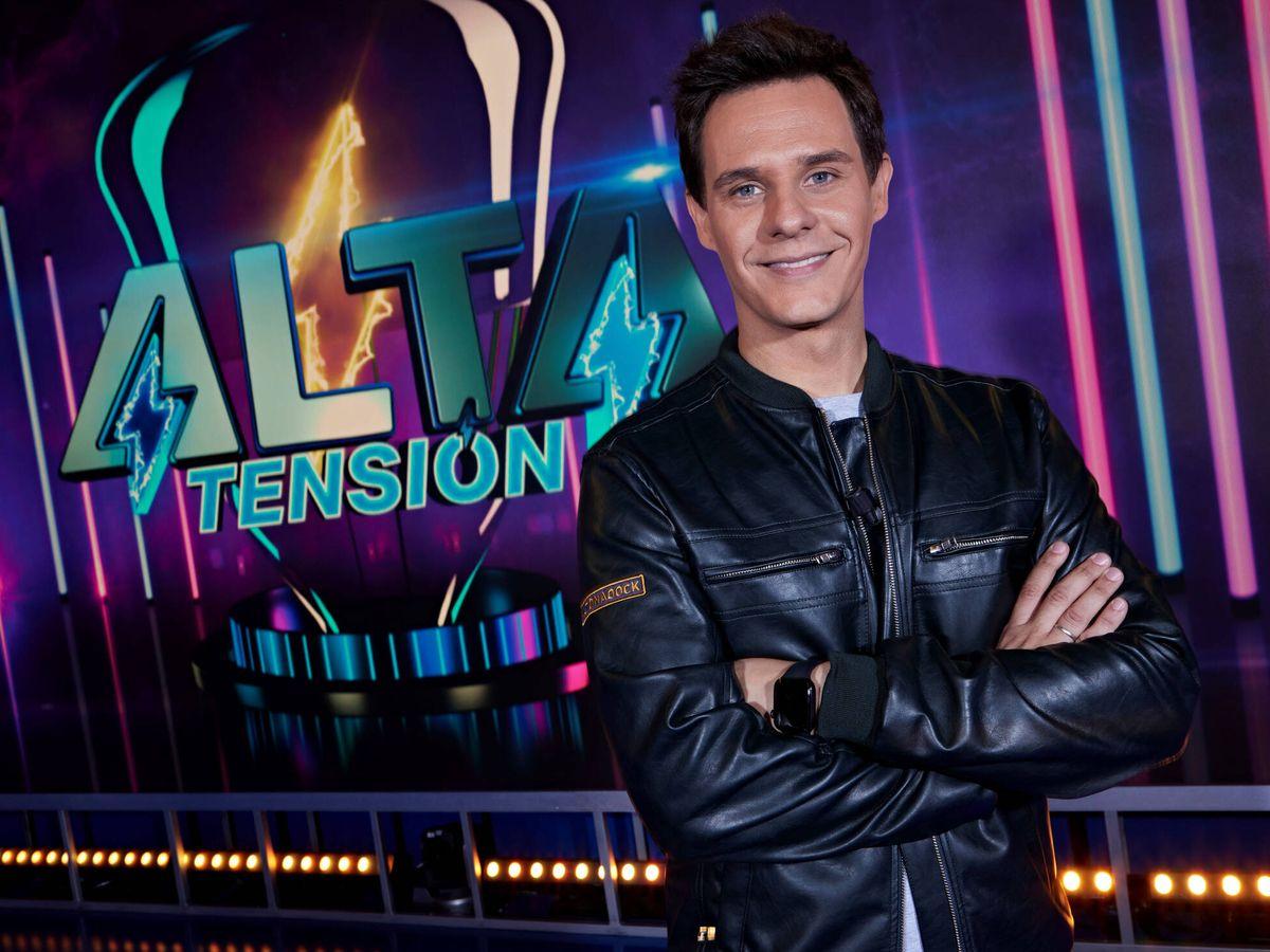 Foto: Christian Gálvez, presentador de 'Alta tensión'. (Mediaset)