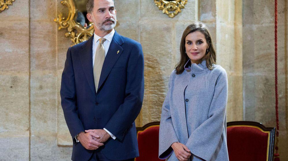 Foto: Los Reyes durante una visita oficial a Murcia. (EFE)