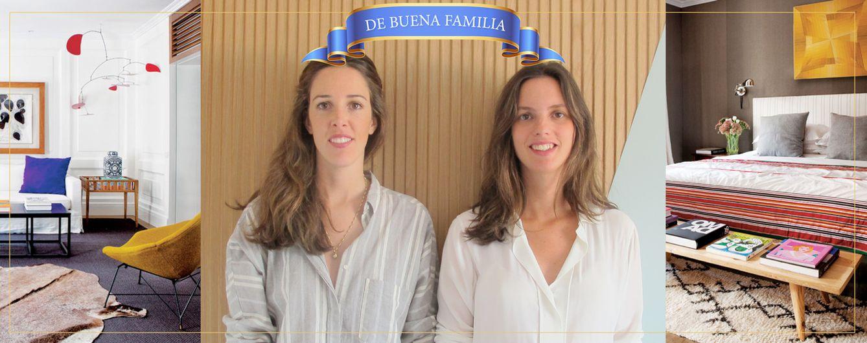 Foto: De buena familia: Mercedes Peralta y Mercedes Valdenebro