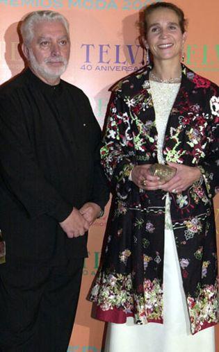 Foto: Paco Rabanne, Premio Nacional de Diseño de Moda