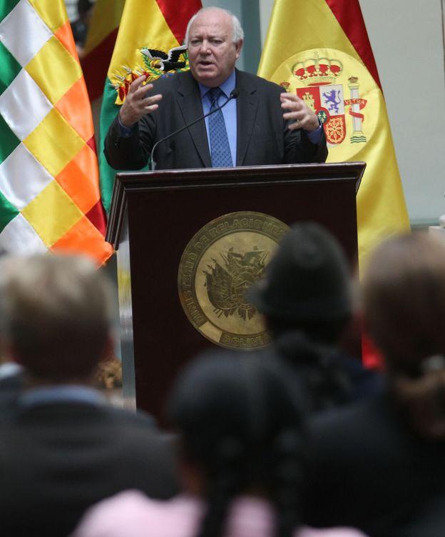 Foto: El exministro español de Asuntos Exteriores Miguel Ángel Moratinos. (EFE)