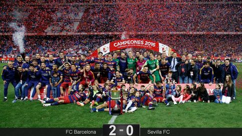 No hay ningún 'estel' como Messi: el Barça fue el rey de la Copa más sufrida