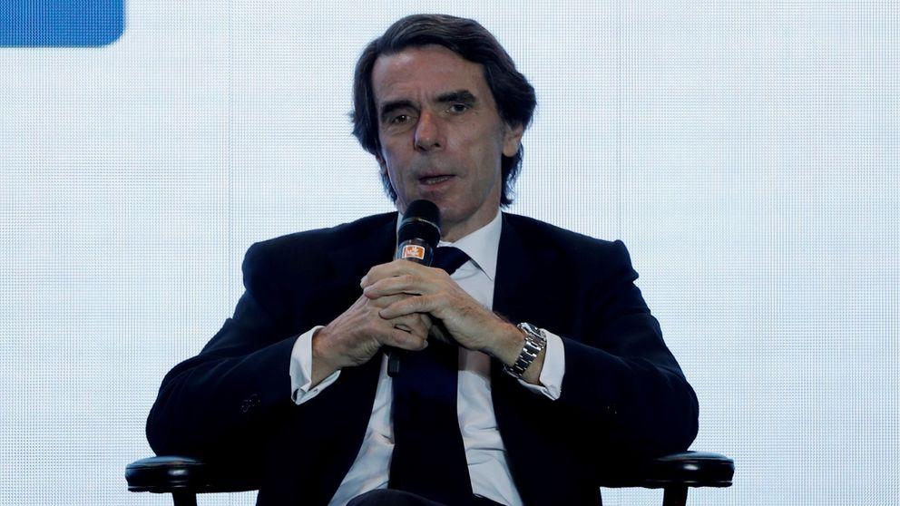 Aznar 'bendice' a Ayuso: Es un honor que sufras el ataque de los hijos de Chávez