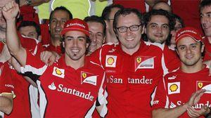 Foto: Si Felipe Massa no es 'manco'... ¿qué le pasa?