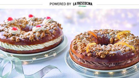 El Roscón de Reyes se reinventa: naranja y chocolate, trufa o nata al Pedro Ximénez