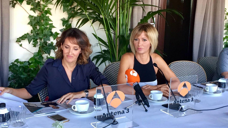 Susanna Griso y Belén García, directora de 'Espejo público'.