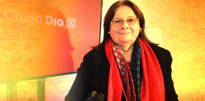 Foto: Ana María Llopis, presidenta de Supermercados Día, en un fotomontaje de Vanitatis