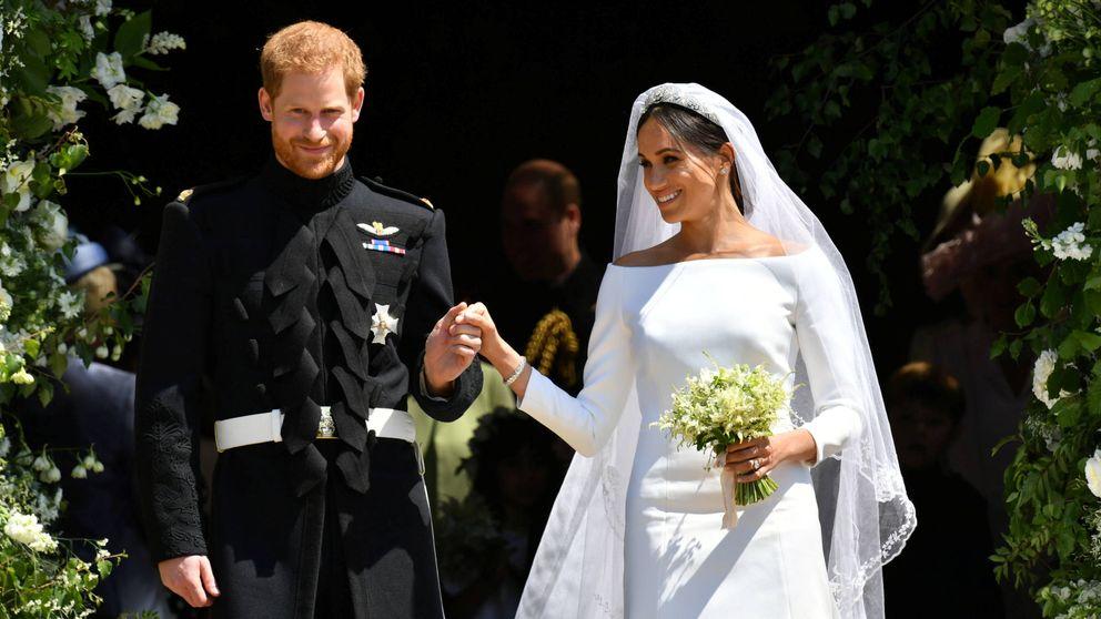 Así ha rendido homenaje Meghan Markle a Lady Di con su ramo de novia