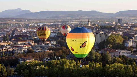 El mayor festival de globos aerostáticos del mundo visto desde el cielo