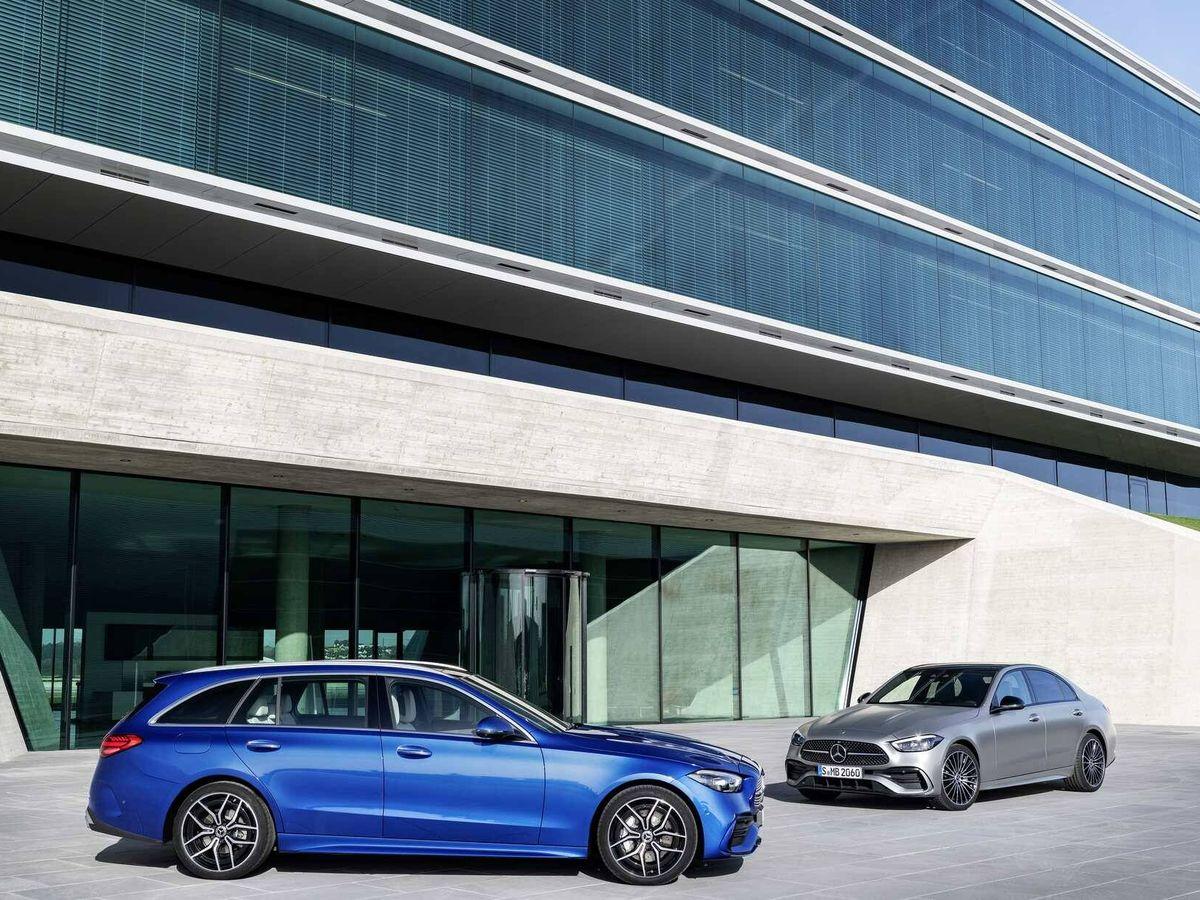 """Foto: Mercedes lanza en España su nueva Clase C en versiones berlina y familiar y siempre con etiqueta """"eco""""."""