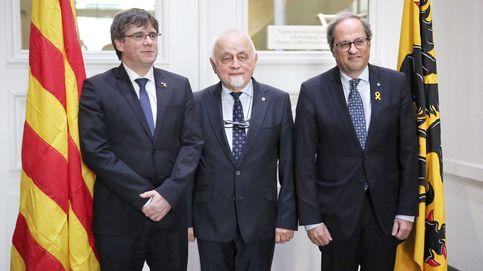 Siga en directo la conferencia de Torra y Puigdemont desde Bruselas