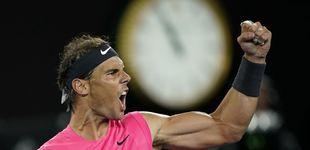 Post de Rafa Nadal - Dominic Thiem en el Open de Australia: horario y dónde ver en TV y 'online'