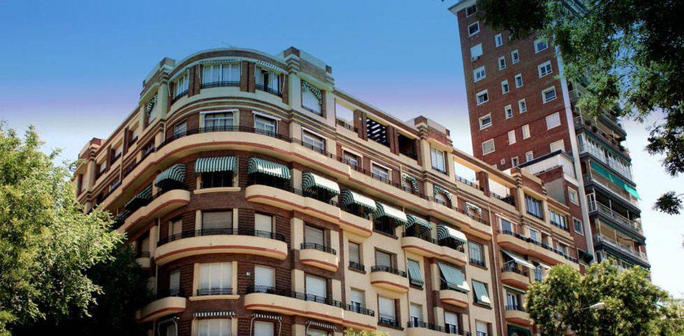 Foto: Una fachada del paseo Pintor Rosales, en Madrid.