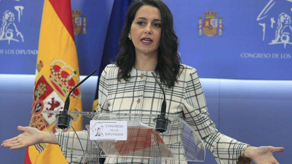 Foto: La portavoz de Ciudadanos, Inés Arrimadas. (EFE)